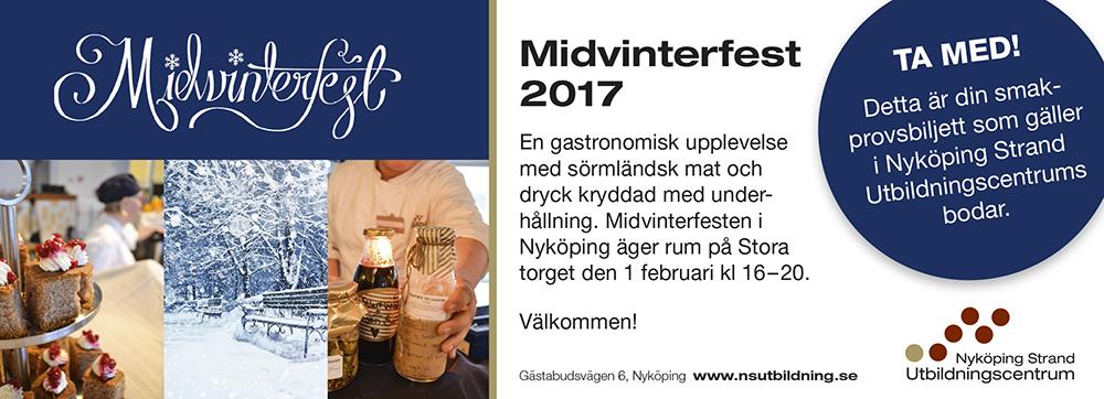 Midvinterfesten på Stora torget i Nyköping den 1 februari