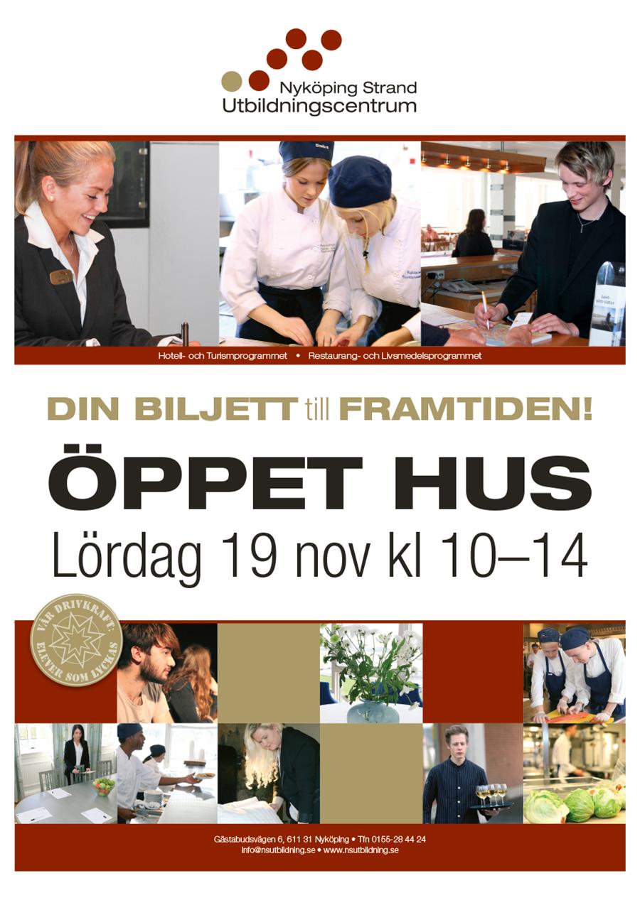 Öppet Hus 19/11 kl 10-14