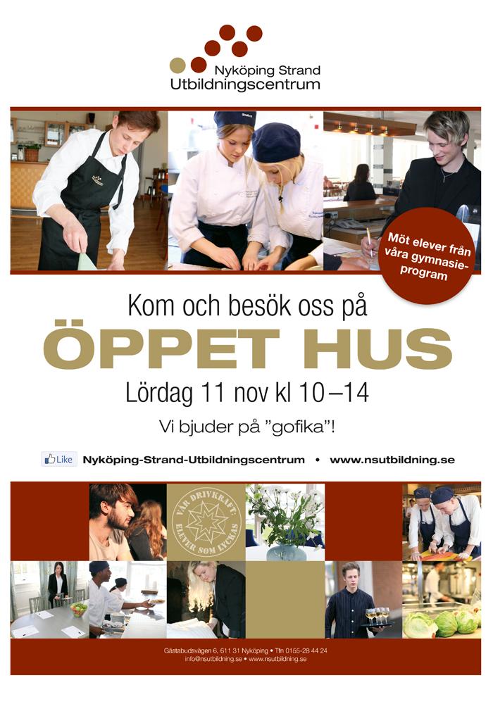 Öppet Hus 11 November kl 10-14