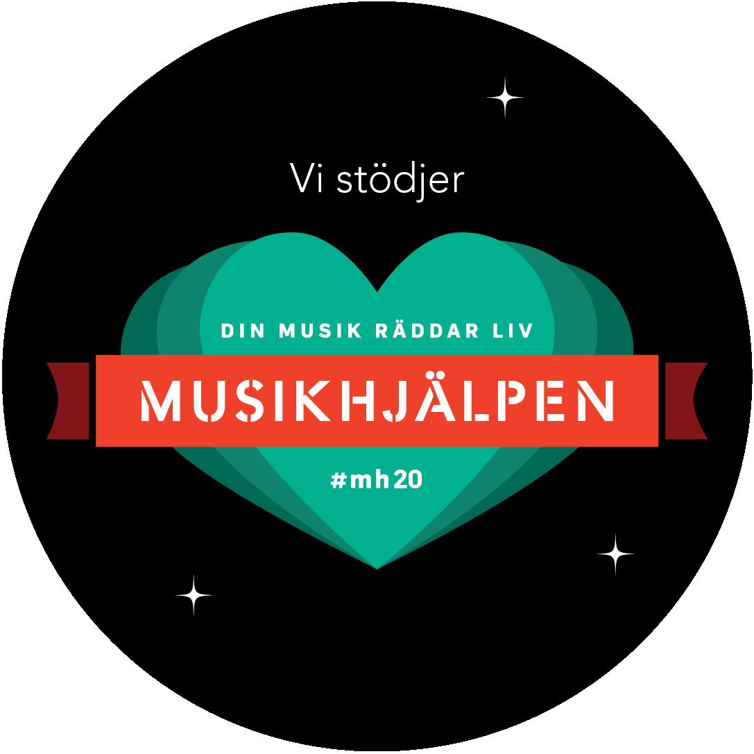 """I år bidrar vi till Musikhjälpen """"Ingen människa ska lämnas utan vård"""""""