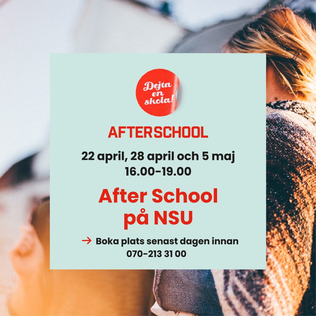 Afterschool – NSU 28 april